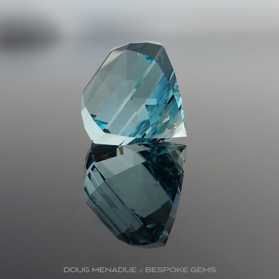 Aquamarine, Regulus Maximus, #904 - Doug Menadue :: Bespoke Gems - Master gemcutter and lapidary artist specialising in fine custom cut precision gems from a wide range of select facet gem rough. Located in Sydney, Australia.