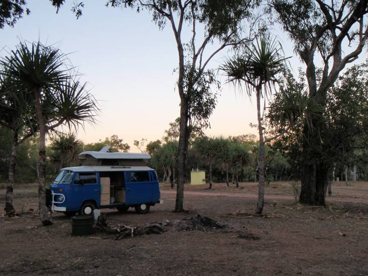 Evening at O'Briens Creek Campground
