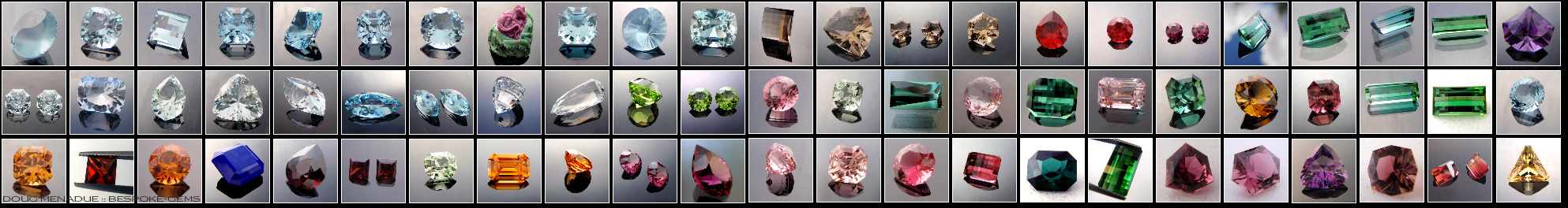 Bespoke Gems - Beautiful Precision Cut Gemstones - Click To Enter
