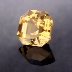 Egyptian Asscher Cut Citrine, Egyptian Asscher Cut, #139