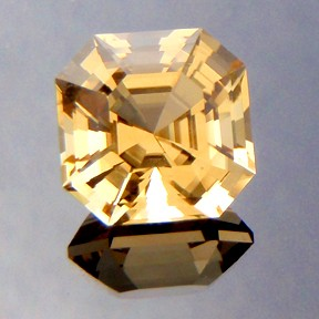 Citrine, Asscher Cut, #217