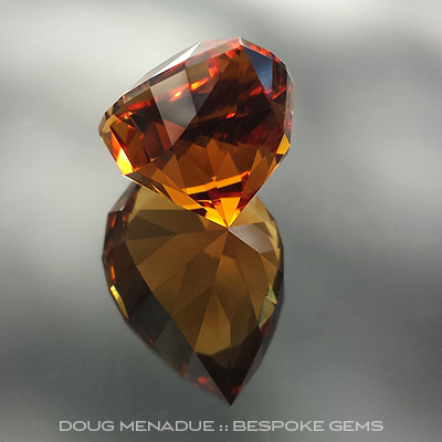 Ox Blood Citrine, Utopia Pear, Uruguay, #711