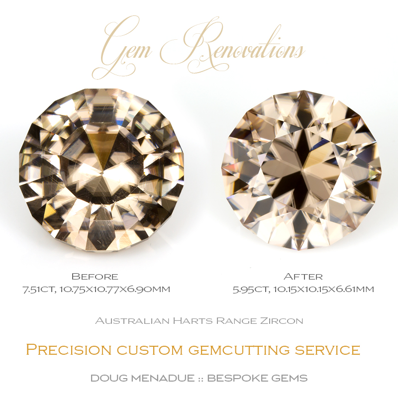 Doug Menadue :: Bespoke Gems, Sydney - Australia, Artisan gemcutter specialising in beautiful precision hand faceted gemstones of the finest quality. Commissions and custom orders taken. Jewellery trade and laipdary services are available such as repairs, recuts, repolishing and more. Contact me for more details.