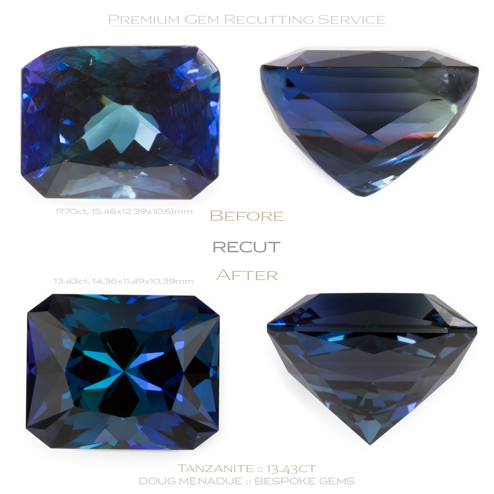certified carat gemstone grs itm cut gemstones blue ebay loose sapphire cushion